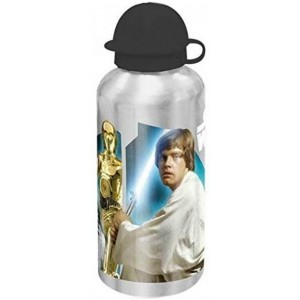 Botella de aluminio de Star Wars 500 ml cantimplora para agua