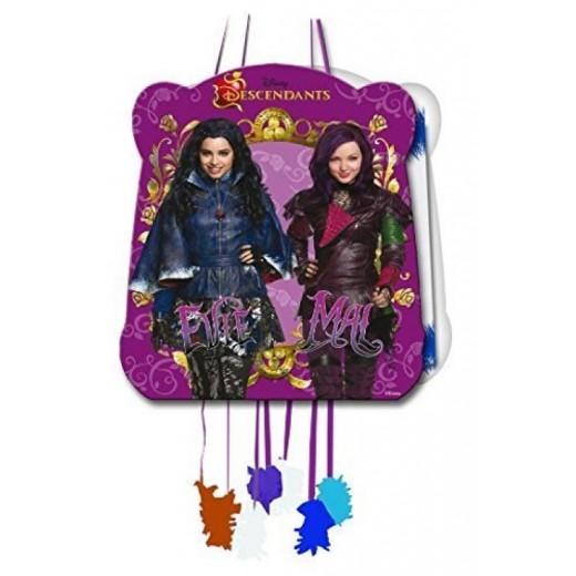 Piñata de descendientes 28x23 cm para fiestas y cumpleaños Descendants