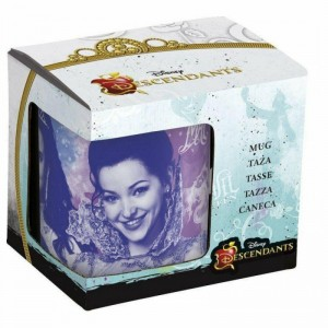 Taza Descendientes de cerámica para desayunos con asa Descendants 325ml