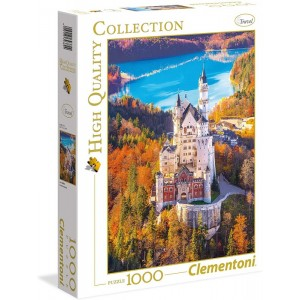 Puzzle Castillo Neuschwastein de 1000 piezas
