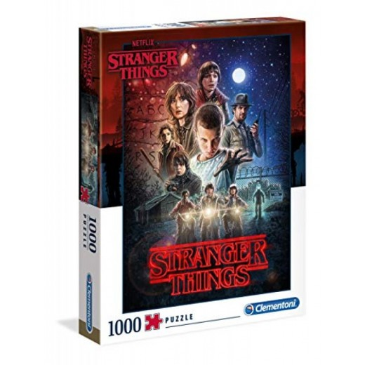 Puzzle de Stranger Things de 1000 piezas