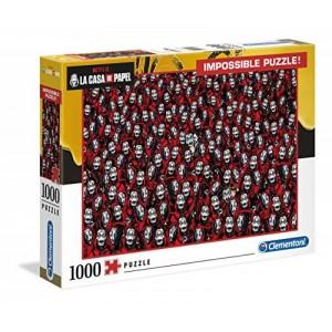 Puzzle de la casa de papel modelo Imposible dificil de 1000 piezas