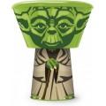 Set de desayuno y merienda Star Wars apilable Yoda bol vaso y plato