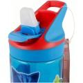 BOTELLA de dibujos PJ MASKS Azul con bebedor boquilla TRITAN PREMIUM 480 ML