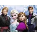 PUzzle Disney Frozen- Rompecabezas 24 Piezas de 70 x 50 cm Gigante