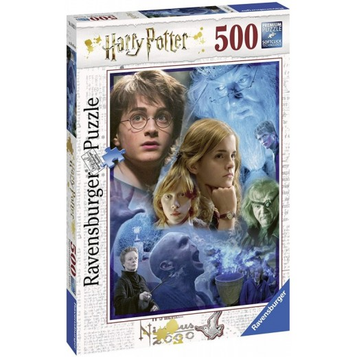 Puzzle de Harry Potter de 500 piezas en Howarts