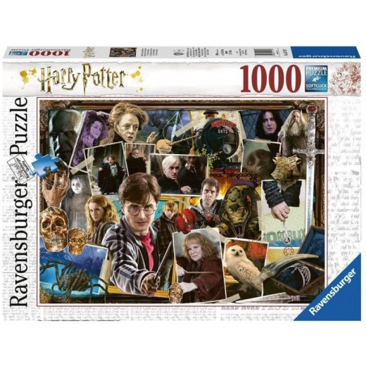 Puzzle de Harry Potter de 1000 piezas Harry vs Voldemort