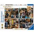 4 Puzzles de Harry Potter de 100 piezas cada 1
