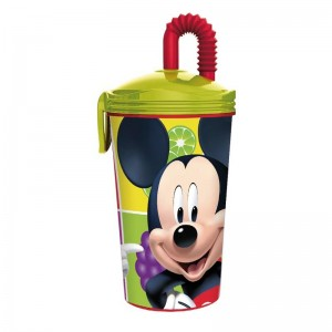 VASO con caña de MICKEY Mouse FRUITS