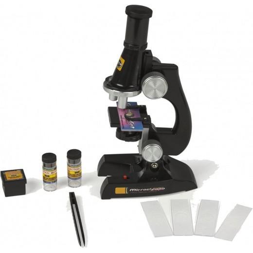Microscopio científico con luz Mi primer microscopio