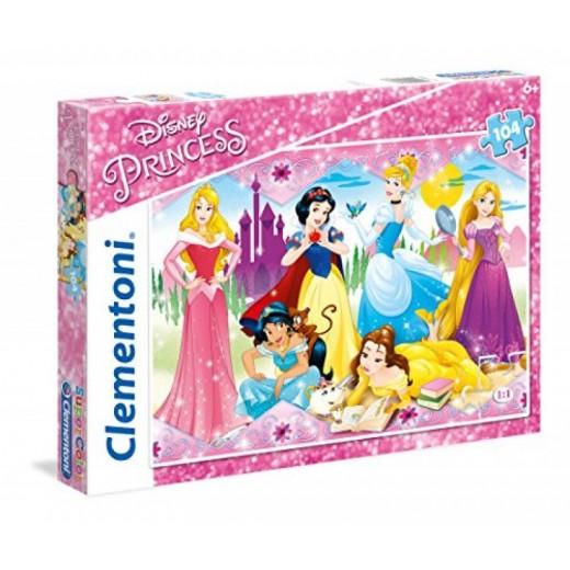Puzzle de Princesas Disney de 104 Piezas