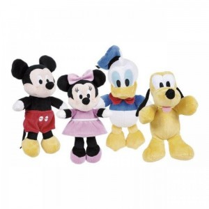 Peluches Disney Flopsie 20 cm Mickey Mouse Minnie pluto o Donald