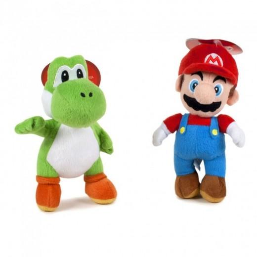 Peluche de Super Mario Bros 22 cm o Yoshi dinasaurio Verde muñecos suaves