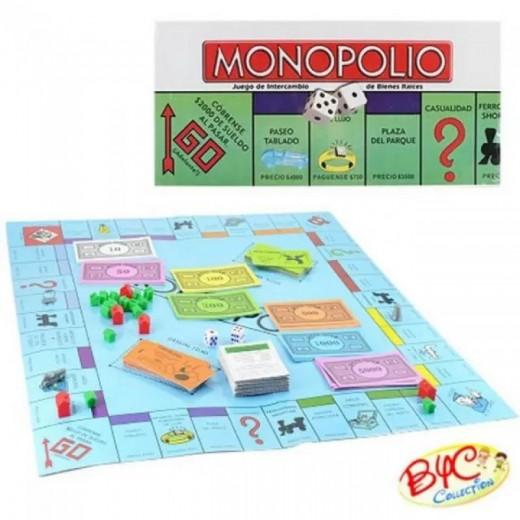 Juego de mesa Monopolio juego de finanzas tipo monopoly compra y vende calles