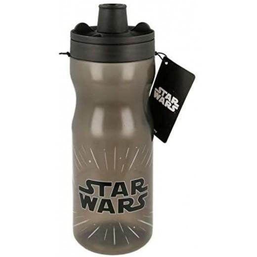 Botella de Agua de Star Wars con bloqueo para deporte 640 ml