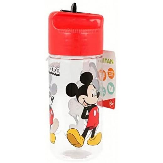 BOTELLA de TRITÁN HIDRO 430ML de MICKEY Mouse 90 YEARS con bebedor
