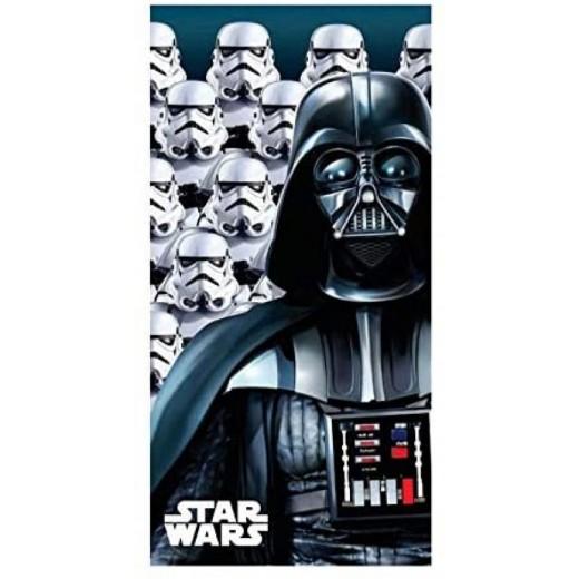 Toalla de Star Wars de secado rápido y suave Darth vaider con stormtroppers