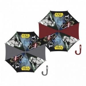 Paraguas de star Wars con mago grande 48 cm Darth vader stormtrooper