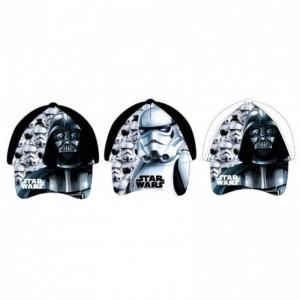 Gorra de Star wars darth Vader o Stormtrooper infantil para niños negra y blanca