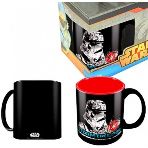 TAZA de Star Wars Stormtrooper de porcelana Mug negra desayuno StarWars