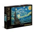 Puzzle de 500 piezas Van Gogh noche estrellada starry night 49x36 cm