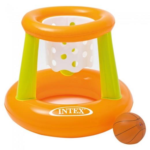 Juego hinchable basket para piscina canasta para agua con pelota
