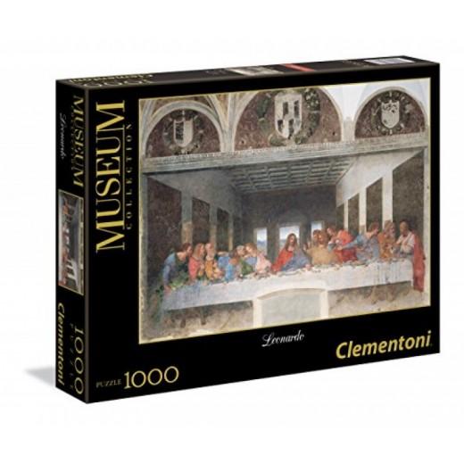 Puzzle de 1000 piezas de la última cena de Leonardo Da Vinci