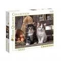 Puzzle 1000 piezas de gatitos en granja 69x50 cm