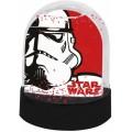 Bola de nieve de Star Wars Darth Vader y Stormtrooper 9cm