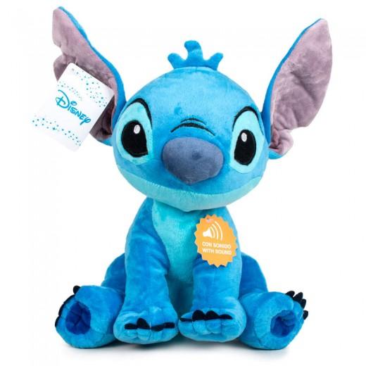Peluche de Stitch Disney con sonido 30 cm Angel que habla pelicula lilo y stitch