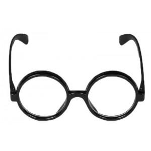 Gafas Harry Potter Disfraz gafas montura negra redondas disfraz mago