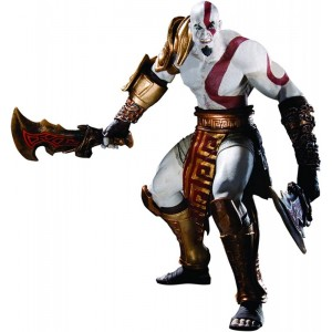 Figura articulada de Kratos God of War Series 1 Oficial Play Station