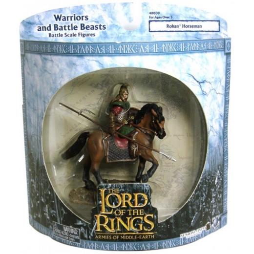 Figura de Jinete de Rohan El señor de los anillos Rohan horseman 13 cm