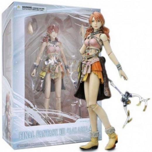 Figura Articulada de Vanille Final Fantasy XIII Play Arts en caja 23 cm
