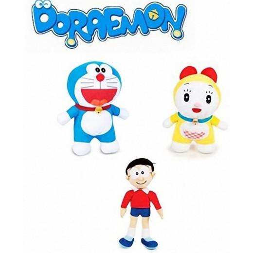 Peluches de Doraemon 22 cm Nobita Dorami con dorayaki muñecos