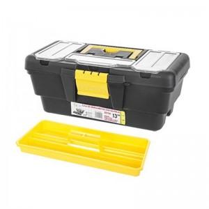 Caja de Herramientas con bandeja 33 cm pequeña con asa y cajones profesional