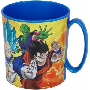 Taza de Dragon Ball Son Goku con asa Azul especial para Microondas 350 ml