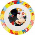 Cuenco para microondas de Mickey Mouse 20cm para niños sin BPA Infantil