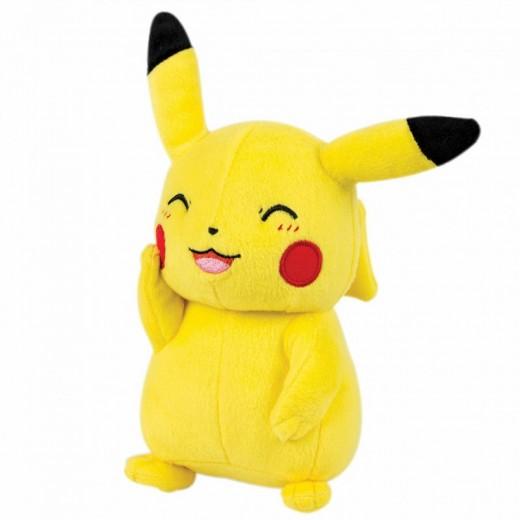 Peluche de Pikachu Pokemon sonriente picachu 35 cms con etiquetas Grande