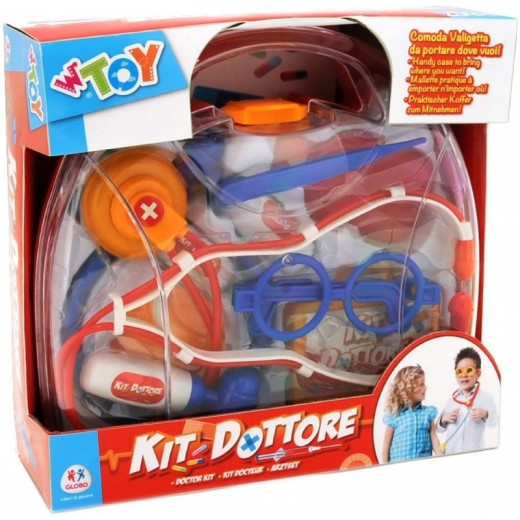Maletín de doctor medico de juguete con muchos accesorios kit Dottore