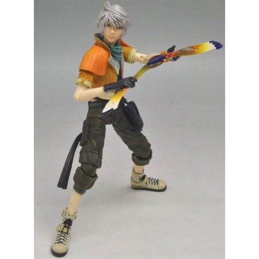 Figura de Final Fantasy XIII de personaje Hope Esth Play Arts en caja 23 cm