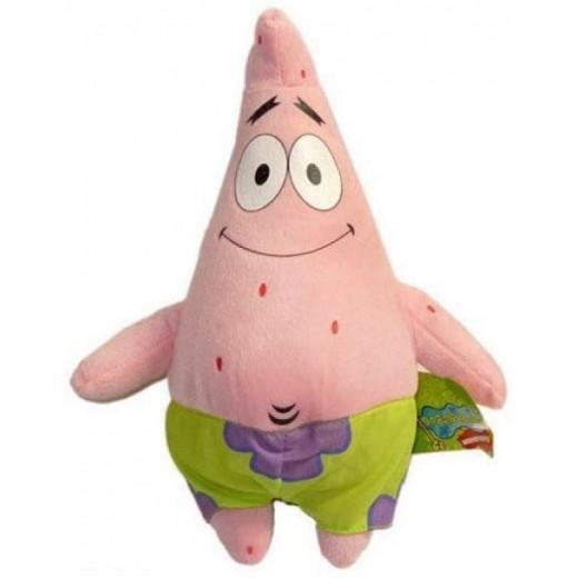 Peluche de Patricio 33 cm muñeco de los dibujos de Bob esponja estrella rosa
