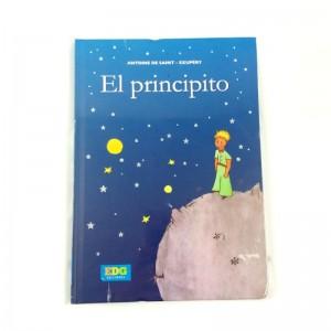 Libro de El Principito con Tapa Dura Azul Antoine de saint cuento del principito