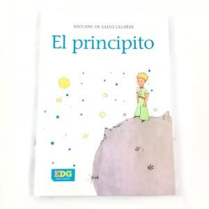 Libro de El Principito con Tapa Dura Blanca Antoine saint cuento del principito