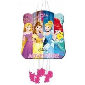 Piñata de princesas Disney para cumpleaños sirenita cenicienta rapunzel y bella