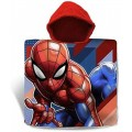 Poncho de Algodon de Spiderman secado rapido muy save Spider-man