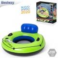 Flotador con agarres sillón con respaldo piscina luxury 119cm grande