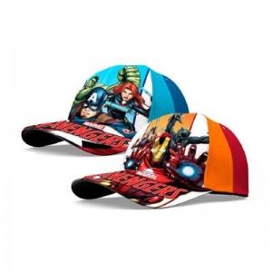 Gorra de los vengadores en 2 modelos Avengers de Marvel infantil con visera