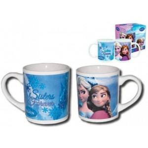 Taza ceramica de Anna y Elsa Sister Forever Hermanas de Frozen con asa