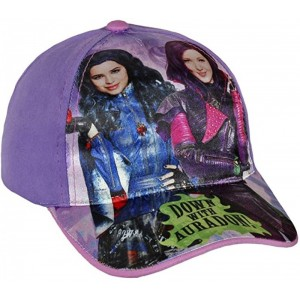 Gorra de Descendientes Morada con visera Descendants Infantil